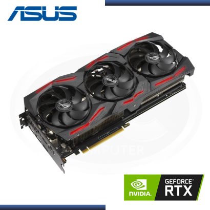 ASUS GEFORCE RTX 2060 6GB GDDR6 192BITS ROG STRIX EVO V2 OC GAMING (PN:ROG-STRIX-RTX2060-O6G-EVO-V2-GAMING)