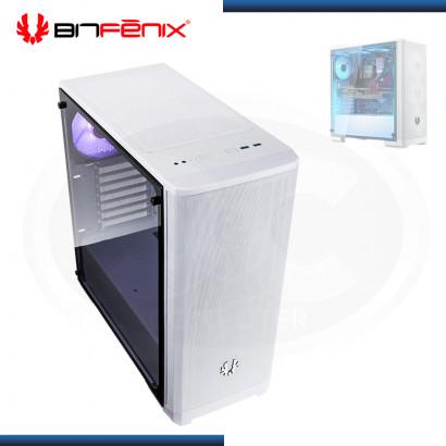 CASE BITFENIX NOVA MESH TG WHITE SIN FUENTE VIDRIO TEMPLADO USB 3.0 (PN:BFC-NVM-300-WWGKW-RP)