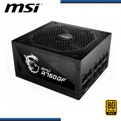 FUENTE MSI MPG A750GF 750W 80 PLUS GOLD MODULAR (PN:306-7ZP0B12-CE0)