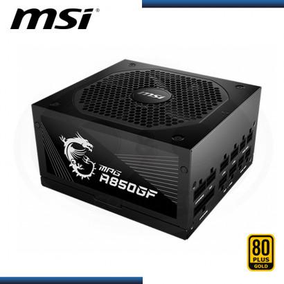 FUENTE MSI MPG A850GF 850W 80 PLUS GOLD MODULAR (PN:306-7ZP0C12-CE0)