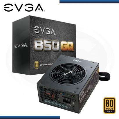 FUENTE EVGA 850GQ 80 PLUS GOLD MODULAR (PN:210-GQ-850-V1)