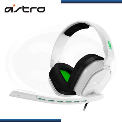 AUDIFONO ASTRO A10 WHITE GREEN CON MICROFONO (PN:939-001844)
