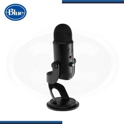 MICROFONO BLUE YETI STREAMING CARDIOID BLACK USB (PN:988-000100)