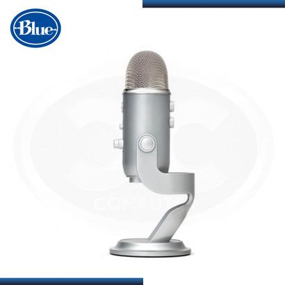 MICROFONO BLUE YETI STREAMING CARDIOID SILVER USB (PN:988-000103)