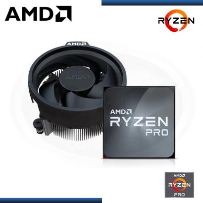 PROCESADOR AMD RYZEN 3 PRO 4350G 3.8GHz 4MB 4 CORE AM4 OEM (PN:100-100000148MPK)