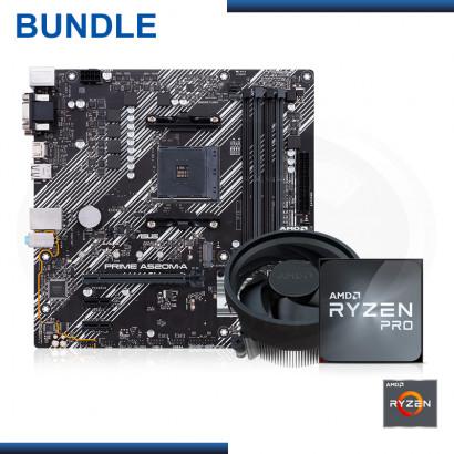 C&C COMBO : AMD RYZEN 3 PRO 4350G + MB ASUS PRIME A520M-A (REF:0-61663)