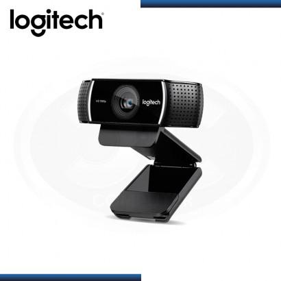 WEBCAM LOGITECH C922 PRO STREAM FULL HD BLACK USB