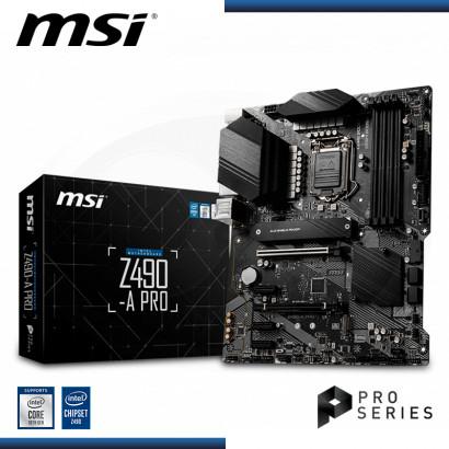 MB MSI Z490-A PRO DDR4 LGA 1200