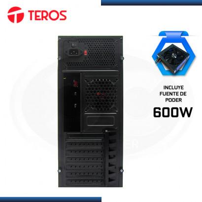CASE TEROS TE1071N CON FUENTE 600W USB 3.0/USB 2.0
