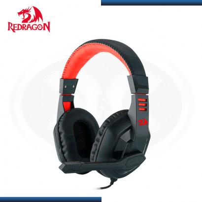 AUDIFONO REDRAGON ARES H120 BLACK RED CON MICROFONO