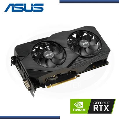 ASUS GEFORCE RTX 2060 6GB GDDR6 192BITS DUAL EVO OC (PN:90YV0CH2-M0AA00)
