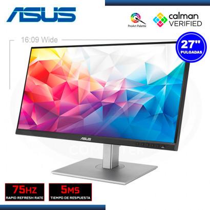 "MONITOR LED 27"" ASUS PROART PA278CV 2560x1440 HDMI DP USB-C 5MS/75HZ (PN:90LM06Q0-B013B0)"