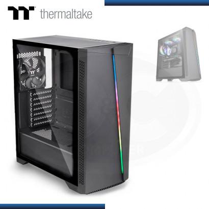 CASE THERMALTAKE H350 RGB BLACK VIDRIO TEMPLADO USB 3.0/USB 2.0 (PN:CA-1R9-00M1WN-00)