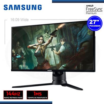 "MONITOR  LED 27"" SAMSUNG LF27G35TFWLXPE ODYSSEY G3 1920X1080 HDMI DP 1MS/144HZ/FREESYNC"