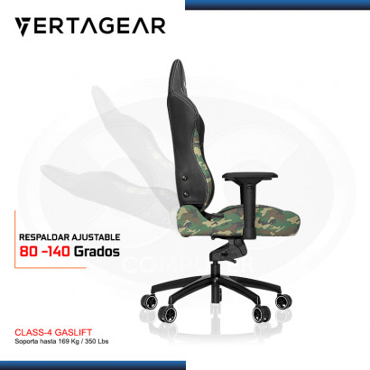 SILLA VERTAGEAR PL6000 BLACK CAMUFLAJE (PN:VG-PL6000-CM)