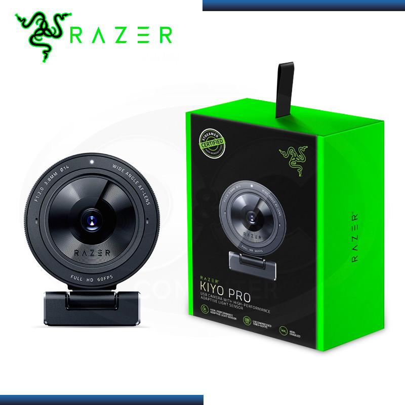 WEBCAM RAZER KIYO PRO FHD 1080P BLACK USB 3.0 (PN:RZ19-03640100-R3U1)
