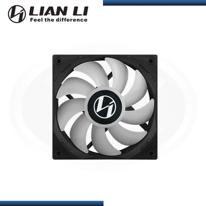 LIAN LI ST 120 BLACK ARGB (PACK x3) 120MM + CONTROLADOR COOLER PARA CASE (PN:ST120-3B)