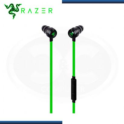 AUDIFONO RAZER HAMMERHEAD IOS LIGHTNING BLACK GREEN CON MICROFONO