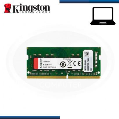 MEMORIA 8GB DDR4 KINGSTON KCP SODIMM BUS 2666MHZ (PN:KCP426SS8/8)