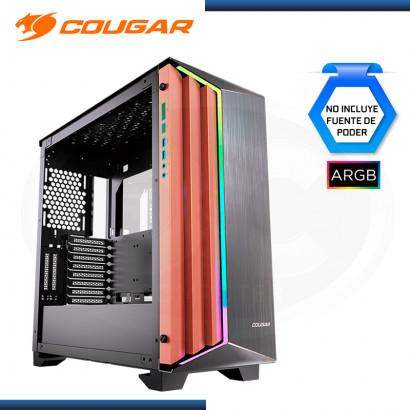 CASE COUGAR DARKBLANDER-S ARGB SIN FUENTE VIDRIO TEMPLADO USB 3.0 (PN:3858M30.0001)