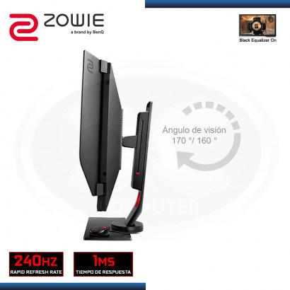 """MONITOR LED 27"""" ZOWIE XL2740 GAMING 1920x1080 HDMI DP DVI-DL 1MS/240Hz (PN:9H.LGMLB.QPA)"""