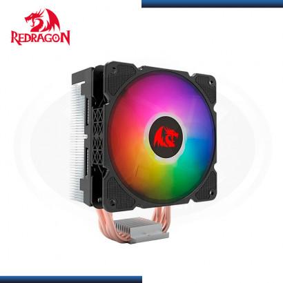 REDRAGON EFFECT CC2000 RGB  REFRIGERACION AIRE AMD/INTEL (PN:CC-2000)