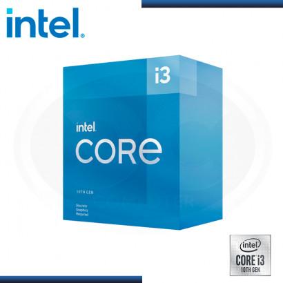 PROCESADOR INTEL CORE I3-10105F 3.70GHz/6MB LGA1200 (PN:BX8070110105F)