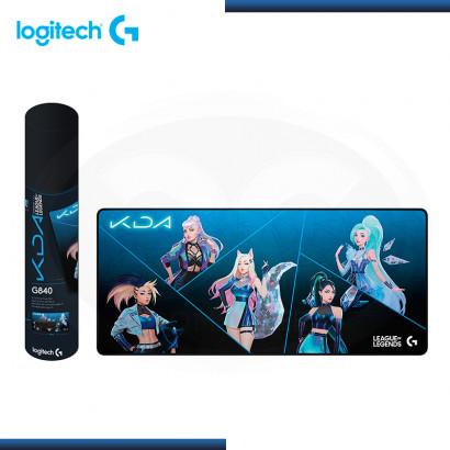 PAD MOUSE LOGITECH G840 CLOTH K/DA XL BLUE BLACK EDICION LIMITADA (PN:943-000456)