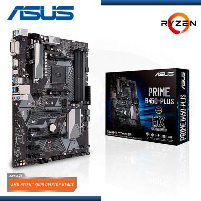 MB ASUS PRIME B450-PLUS AURA SYNC RGB AMD RYZEN DDR4 AM4 (PN:90MB0YN0-M0AAY0)