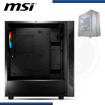 CASE MSI VAMPIRIC 010 SIN FUENTE VENTANA VIDRIO TEMPLADO USB 3.0 /USB 2.0 (PN:MSIMAGVAMPIRIC010)