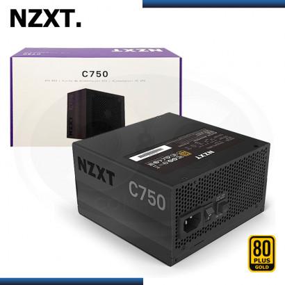 FUENTE NZXT C750 750W 80 PLUS GOLD MODULAR (PN:NP-C750M-US)