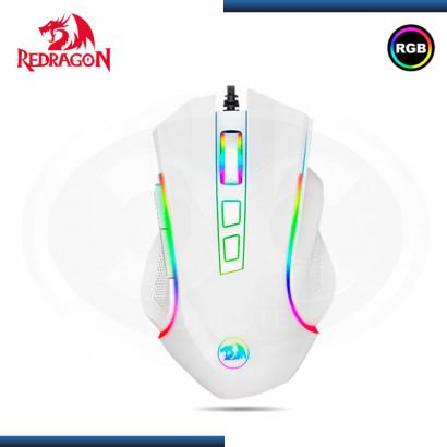 MOUSE REDRAGON GRIFFIN M607W WHITE RGB 7200 DPI USB (PN:M607W)