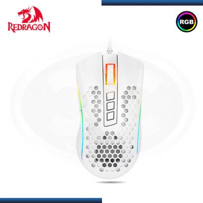 MOUSE REDRAGON M988W WHITE RGB STORM ELITEGAMING (PN:M988W-RGB)