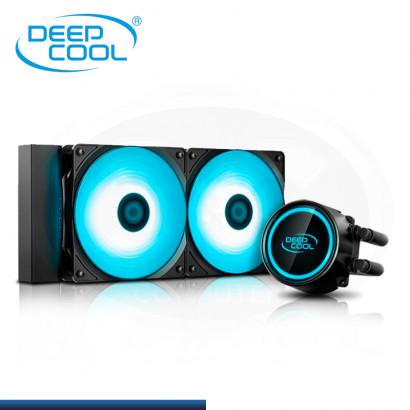 C&C COMBO : DEEPCOOL GAMMAXX L240T BLUE + PASTA TERMICA DEEPCOOL Z3 1.5 Grs (REF:0-66410)