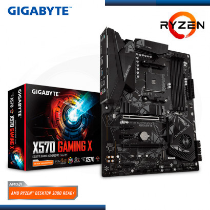 MB GIGABYTE X570 GAMING X AMD RYZEN DDR4 AM4 PCIe 4.0 RGB 2.0