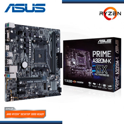 MB ASUS A320M-K PRIME AMD RYZEN DDR4 AM4 (PN:90MB0TV0-MVAAY0)