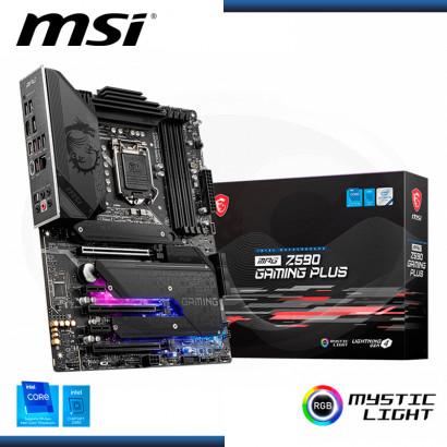 MB MSI MPG Z590 GAMING PLUS DDR4 LGA 1200 (PN:911-7D07-001)