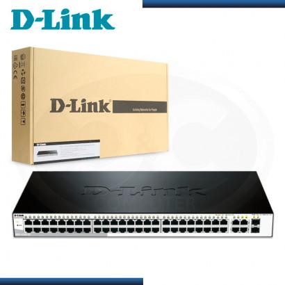 SWITCH D-LINK DGS-1210-52 4 PUERTOS 10/100/1000 Mbps