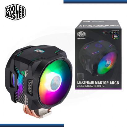 COOLER MASTER MASTERAIR MA610P ARGB REFRIGERACION AIRE AMD/INTEL (PN:MAP-T6PN-218PA-R1)