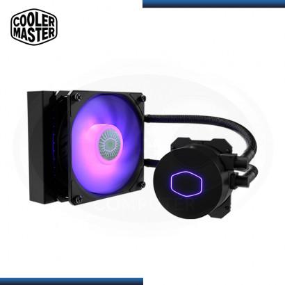 COOLER MASTER MASTERLIQUID ML120L V2 RGB REFRIGERACION LIQUIDO AMD/INTEL (PN:MLW-D12M-A18PC-R2)