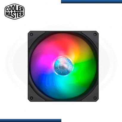 COOLER MASTERFAN SICKLEFLOW 140 ARGB COOLER PARA CASE (PN:MFX-B4DN-14NPA-R1)