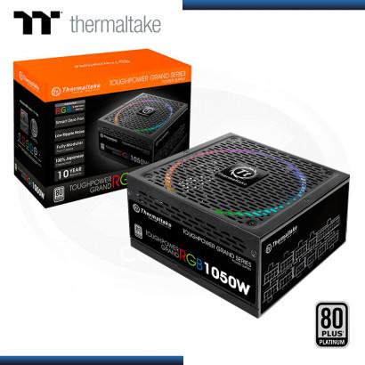 FUENTE THERMALTAKE TOUGHPOWER GRAND 1050W RGB 80 PLUS PLATINUM MODULAR (PN:PS-TPG-1050F1FAPU-1)