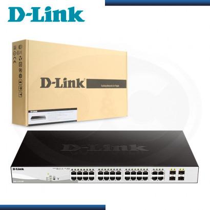 SWITCH D-LINK DGS-1210-28P GIGABIT 4 PUERTOS SFP 10/100/1000 Mbps