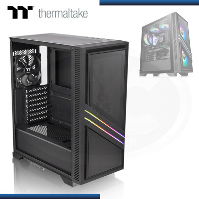 CASE THERMALTAKE VERSA T35 RGB SIN FUENTE VIDRIO TEMPLADO USB 3.0/USB 2.0 (PN:CA-1R7-00M1WN-00)