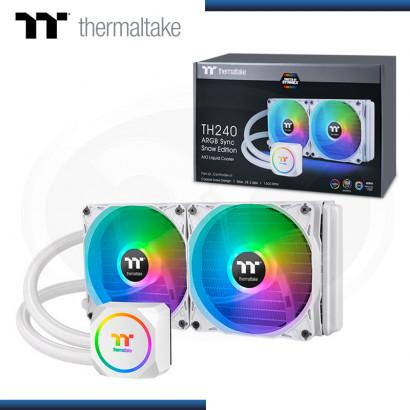 THERMALTAKE TH240 ARGB WHITE REFRIGERACION LIQUIDO AMD/INTEL (PN:CL-W301-PL12SW-A)