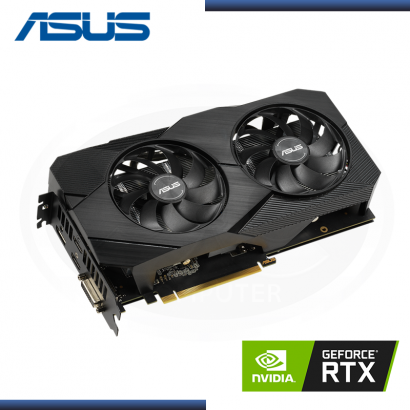ASUS GEFORCE RTX 2060 6GB GDDR6 192BITS DUAL EVO OC (PN:90YV0CH2-MTAA00)