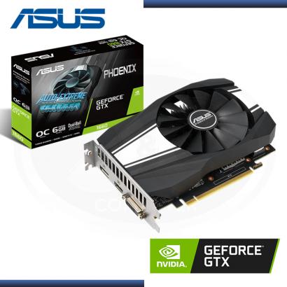 ASUS GEFORCE GTX 1660 6GB GDDR5 192BITS PHOENIX OC (PN:90YV0CU0-MVAA00)