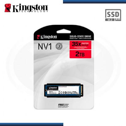 SSD 2TB KINGSTON NV1 M.2 2280 NVMe PCIe (PN:SNVS/2000G)