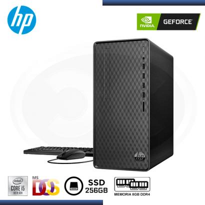 DESKTOP HP M01-F1001LA GEFORCE GTX 1650 4GB/CI5-10400/8GB DDR4/SSD 256GB/FREEDOS