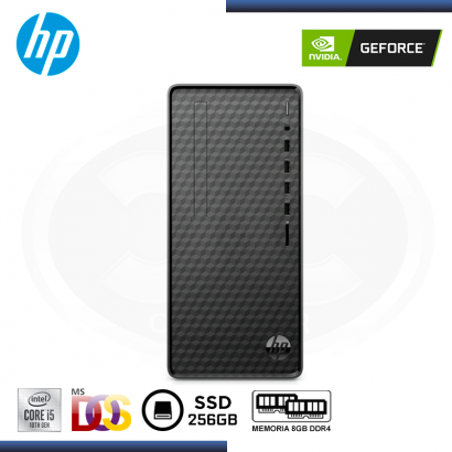 "C&C PROMO : DESKTOP HP M01-F1001LA GEFORCE GTX 1650 4GB + MONITOR LED 24"" LG 24GL600F-B (REF:0- 68184)"